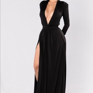 Spree Dress-Black
